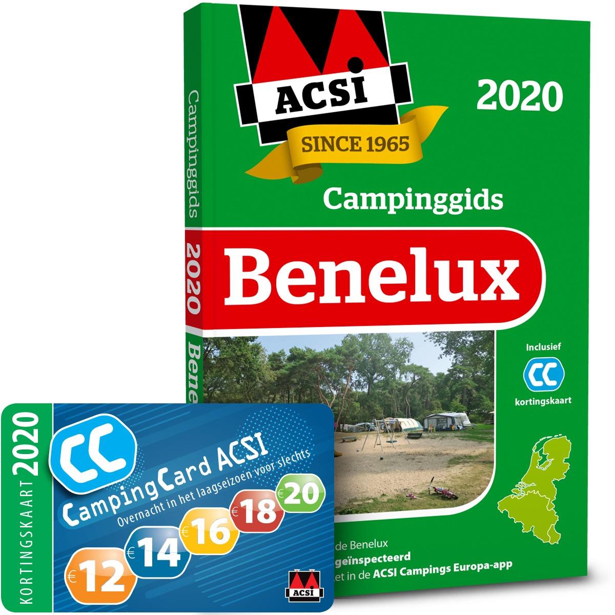 ACSI Campinggids Benelux