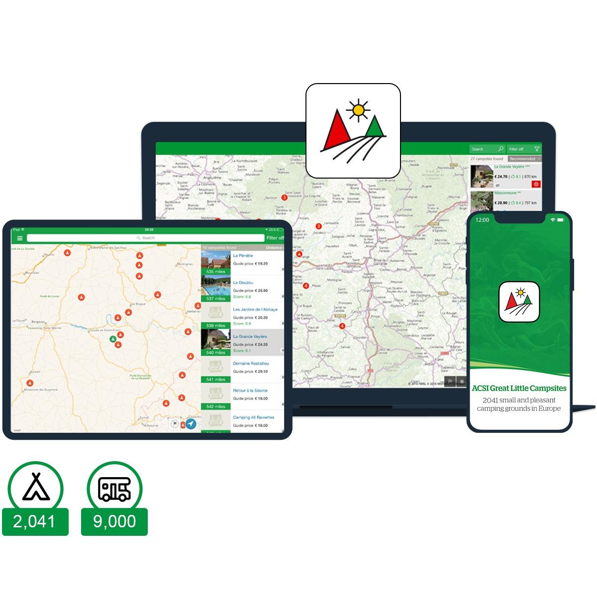 ACSI Great Little Campsites app