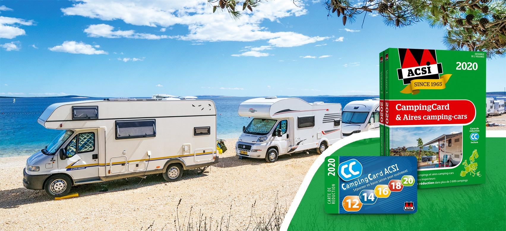 ACSI CampingCard & Aires camping-cars